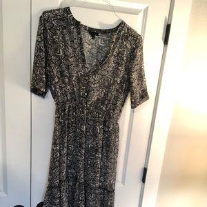 Full length sheer WHOWHATWEAR dress